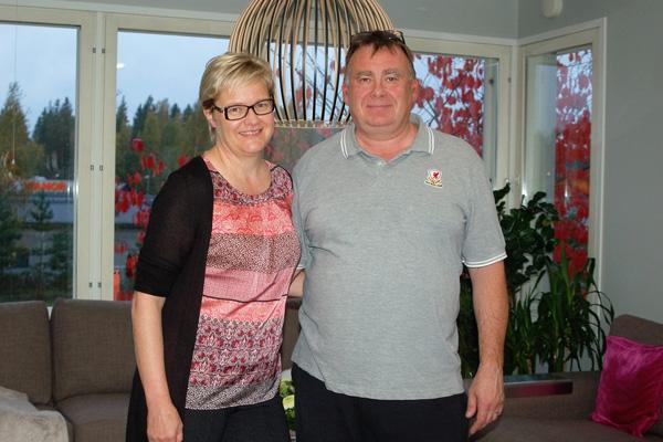 jarkonrakennuspalvelun_asiakas Anu Panchin ja hänen miehensä Vladimir Panchin